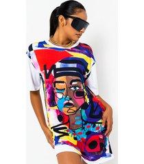 akira abstract art short sleeve graphic t shirt