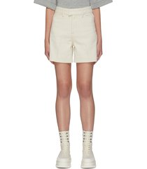 'bernadette' wide leg cotton shorts