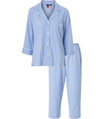 pyjamas lrl heritage 3/4 sl classic notch pj set