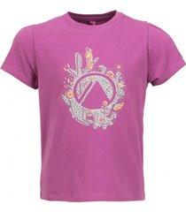 polera logo lippi uvstop t-shirt violeta lippi