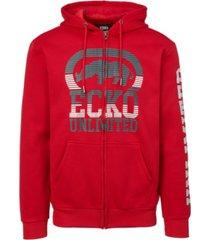 ecko unltd men's big hit full zip hoodie