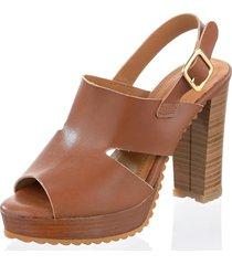 sandaletter alba moda brun