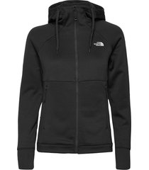 w hikest midlay-sg sweat-shirts & hoodies fleeces & midlayers svart the north face