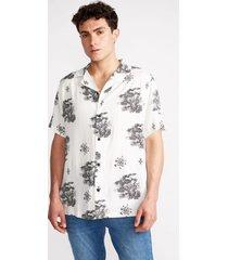 camisa guayabera oriental blanco sioux