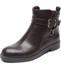 botin marron new walk