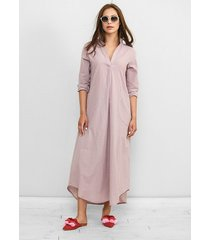 sukienka z muślinu fabia wrzosowa