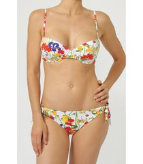 bikini admas 2-delige push-up bikiniset happy flowers