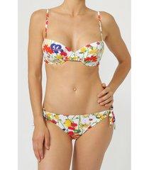 bikini admas 2-delig push-up bikinisetje happy flowers