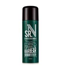sr. n espuma de barbear - 200 ml