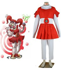 five nights at freddy's circus cosplay costume outfit dress