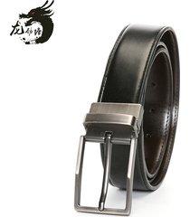 cinturón de hombres, cinturón de hebilla de-negro