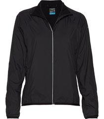 wmns rush windbreaker outerwear sport jackets svart icebreaker