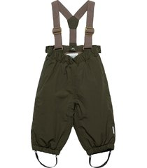 wilas suspenders pants, m outerwear snow/ski clothing snow/ski pants grön mini a ture