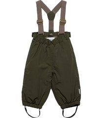 wilas suspenders pants, m outerwear snow/ski clothing snow/ski pants grön mini a ture