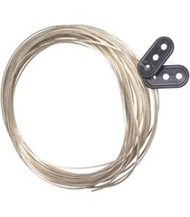 corda em aço para varal de parede com 10 metros
