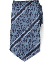 star wars mando stripe men's tie