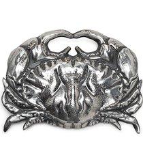 atu body couture x la vie en doré crab brooch - silver