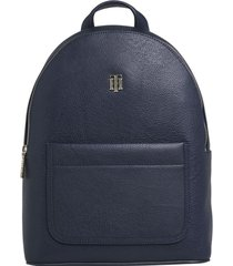 mochila th binding azul tommy hilfiger