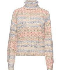 enbrush ls knit 5224 turtleneck polotröja multi/mönstrad envii