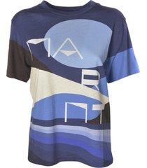 isabel marant zewel allover print t-shirt
