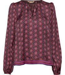 insanely right blouse blouse lange mouwen rood odd molly