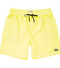 traje de baño hombre all day layback amarillo billabong