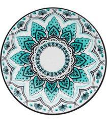 conjunto de 6 pratos fundos 21cm coup serene - multicolorido - dafiti