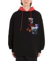 juun.j synthetic hoodie