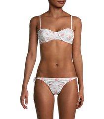 cassandra underwire bikini top