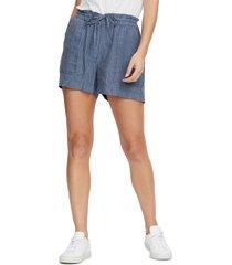 women's michael stars paulette paperbag waist shorts