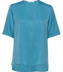 ivala2 blouses short-sleeved blå boss