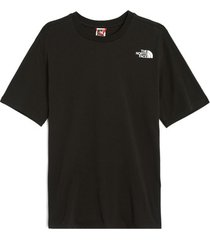 t-shirt korte mouw the north face nf0a4m5qjk31