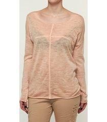 please t-shirt summer longsleeve antique peach oranje