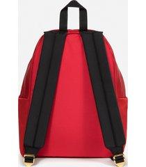 eastpak men's x undercover padded pak'r satin backpack - red