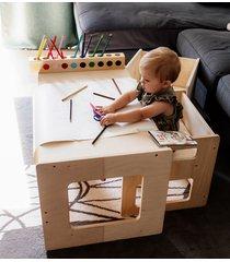 biurko dla dziecka + rolka papieru do rysowania