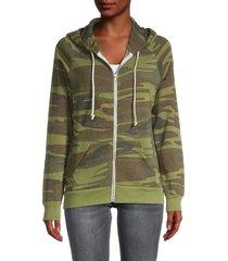 alternative women's adrian camo hoodie - camo - size xs