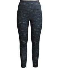 ideology textured high-rise 7/8 leggings, created for macy's