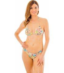 bikini cruzado estampado stripe multicolor ac mare