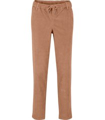 pantaloni di velluto  con cordoncino (marrone) - bpc bonprix collection