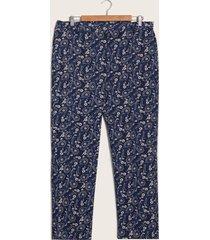 pantalón paisley azul 16