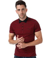 diesel mens t-fuel polo shirt size 2xl in red