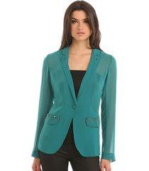 emilia jacket gr - guess - jassen - groen