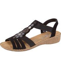 sandaletter rieker svart
