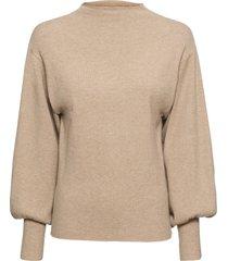 maglione con maniche a palloncino (beige) - bodyflirt