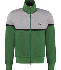 ami alexandre mattiussi cotton full-zip sweatshirt