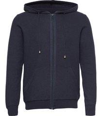 5488 - hoodie ingram hoodie trui blauw sand