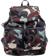 kipling elijah camo backpack