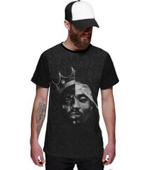camiseta di nuevo black style masculina