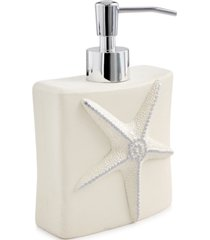avanti bath, sequin shells lotion pump bedding