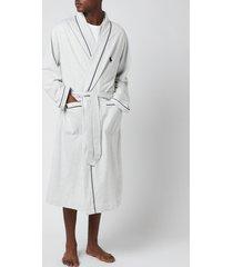 polo ralph lauren men's loop back robe - english heather - l/xl
